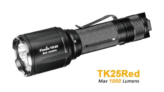 Fenix UC35 V 2.0 Taschenlampe 1000 Lumen mit USB Kabel und Gürtelholster Neu OVP